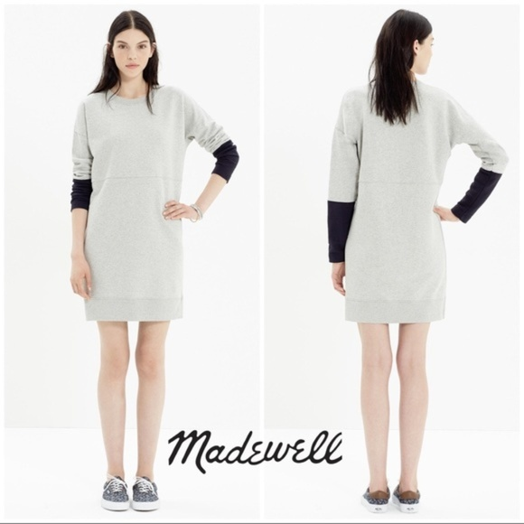 19bd8ae152c Madewell Dresses   Skirts - Sale! NWOT Madewell colorblock sweater dress